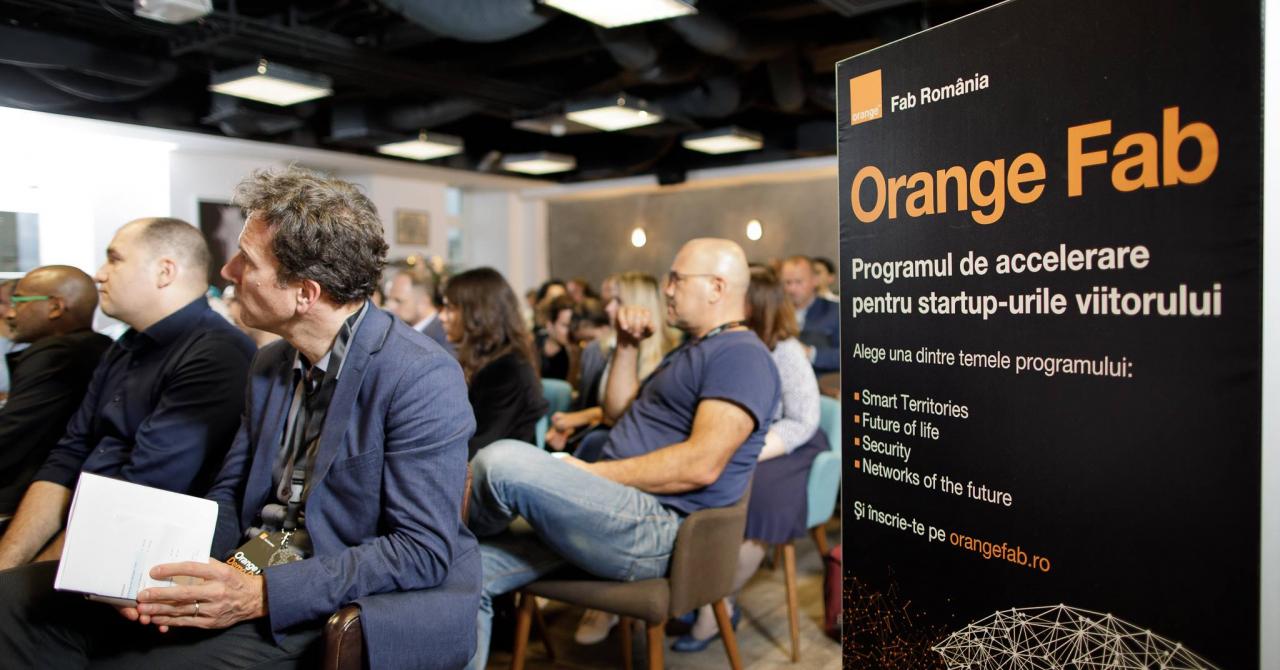 """Acceleratorul Orange Fab: """"Colaborarea ne oferă credibilitate"""""""