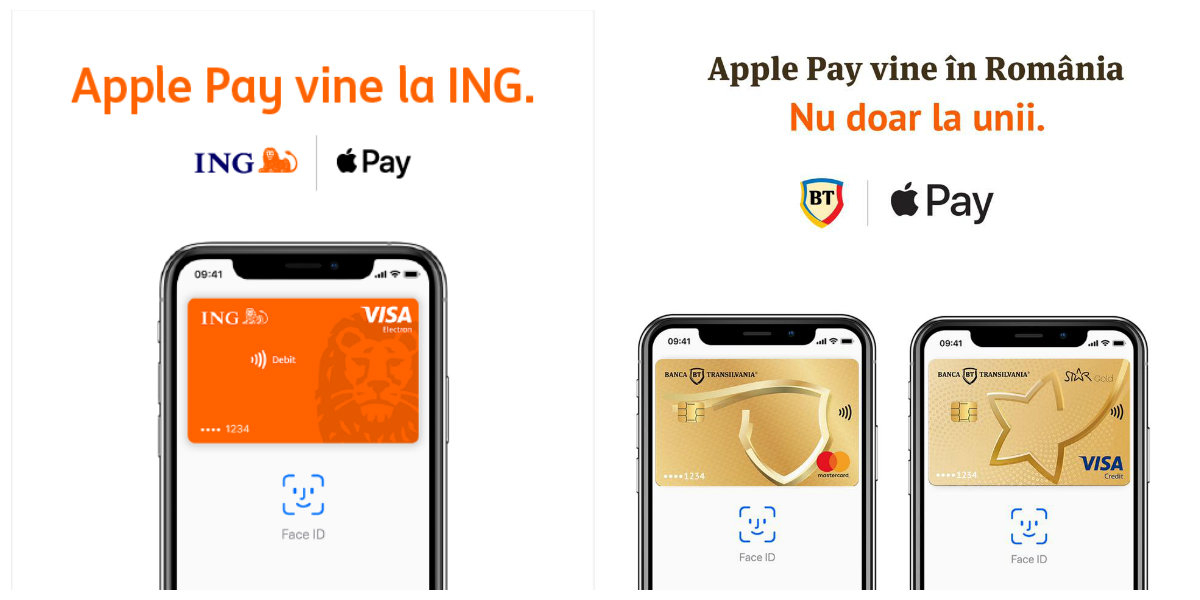BT, ING Bank și Orange anunță Apple Pay în România
