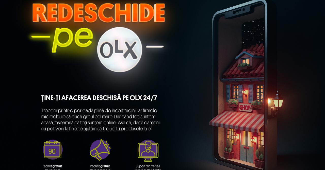 OLX lansează o inițiativă de susținere a antreprenorilor și afacerilor locale