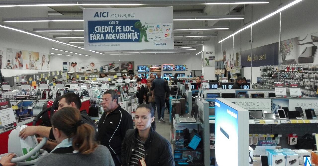 Black Friday 2017 la Flanco: Câte produse a vândut retailerul