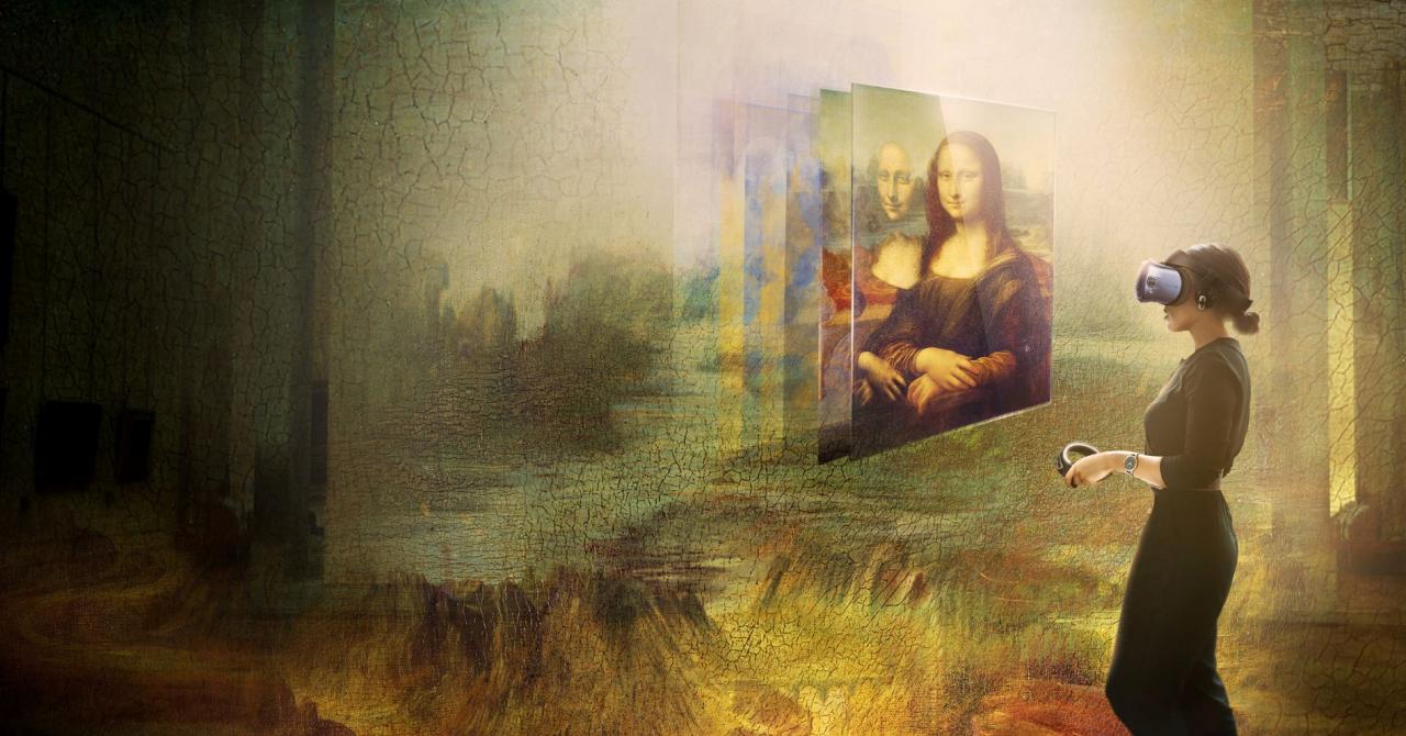 Parteneriat între HTC și Muzeul Luvru pentru artă în VR