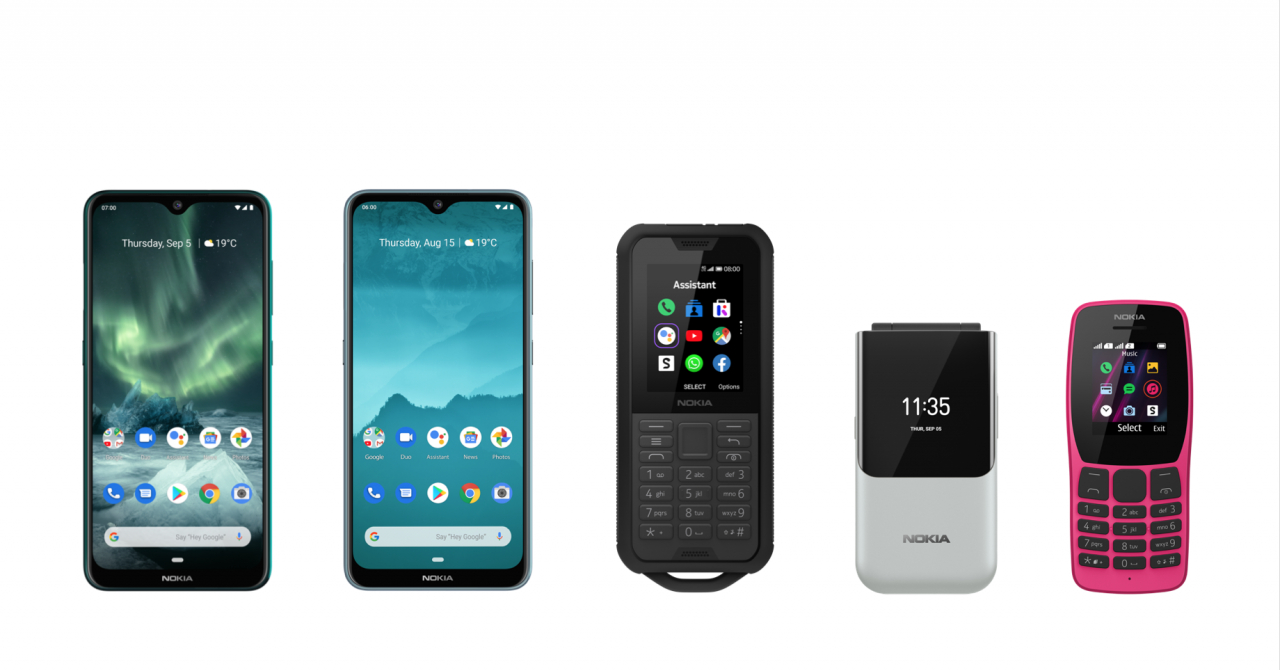 HMD lansează cinci noi telefoane Nokia și o pereche de căști wireless