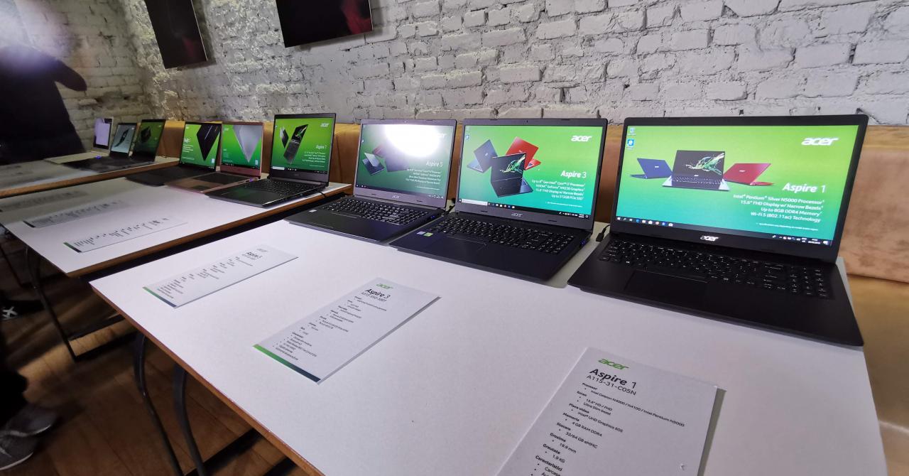 Noile laptopuri Acer, prezentate oficial în România