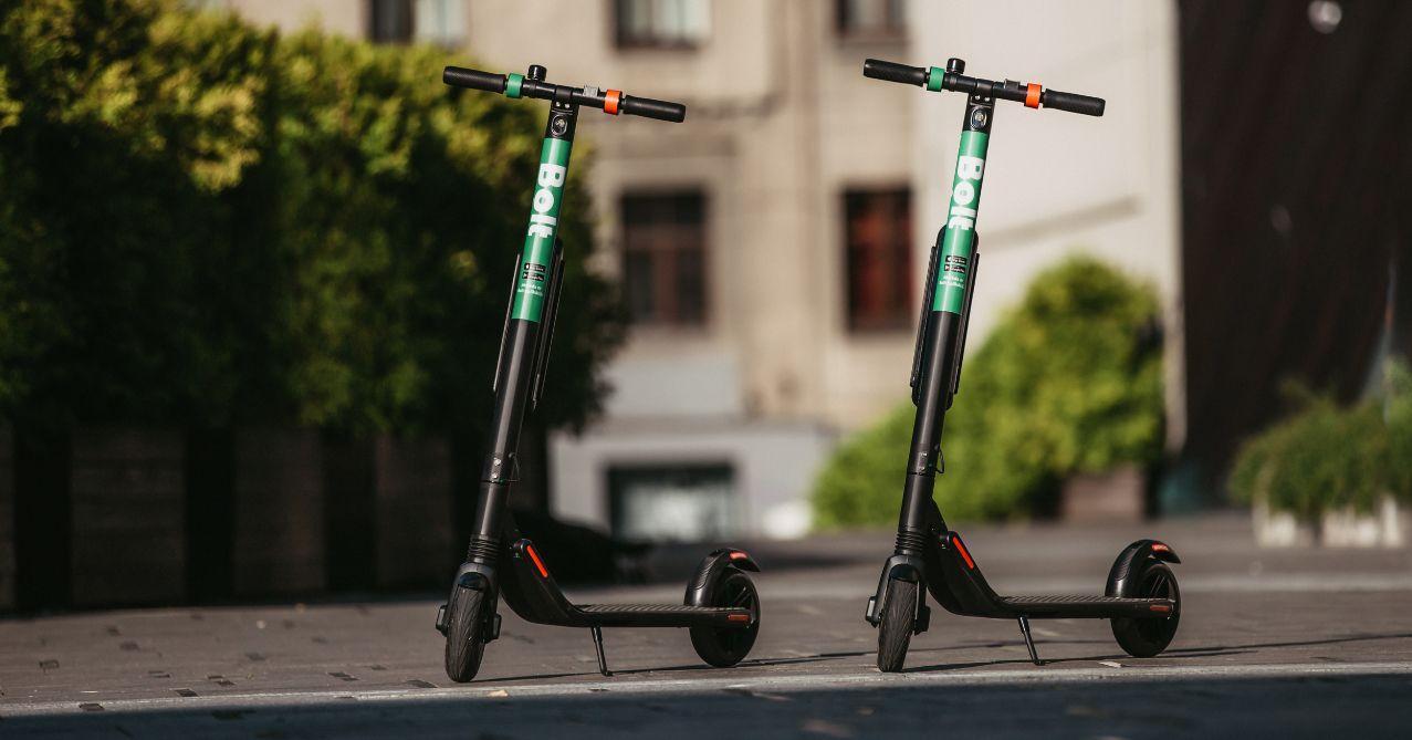 Bolt vine cu trotinete și mașini electrice în România