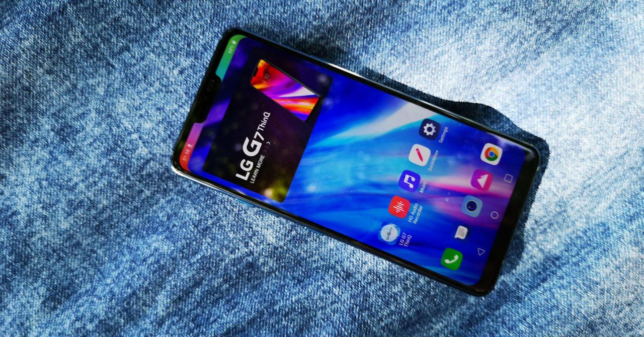 "LG G7 ThinQ, primele impresii: cel mai ""zgomotos"" telefon al anului"