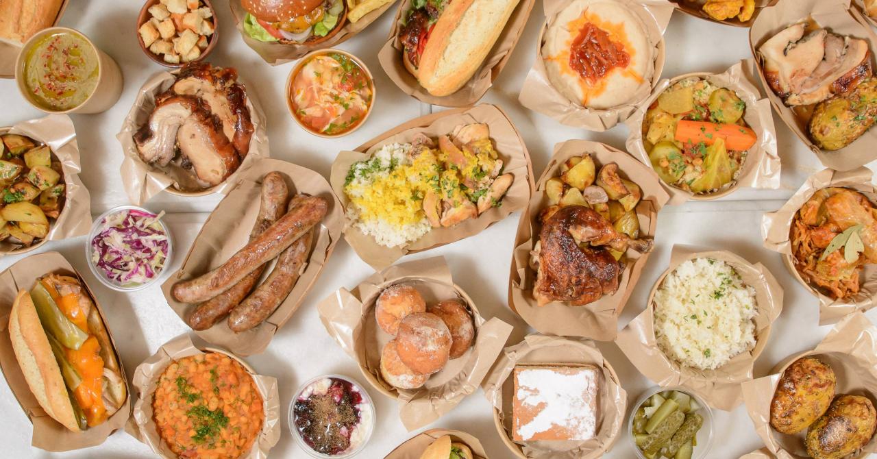 Uber Eats: topul celor mai bune restaurante și preparate din București