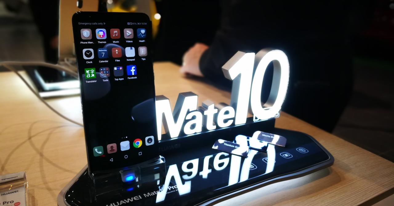 Huawei Mate 10 Pro, prezentat oficial în România