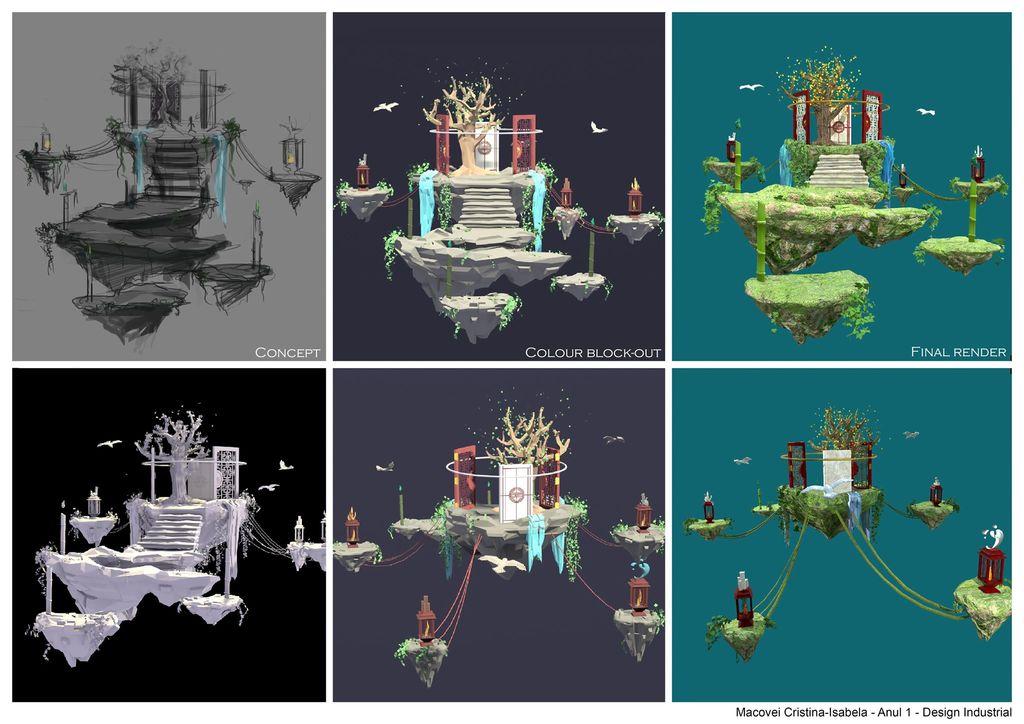 Curs de artă digitală 3D pentru studenții români