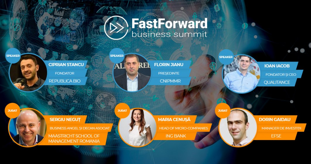 Învață să te extinzi peste hotare la Fast Forward Business Summit