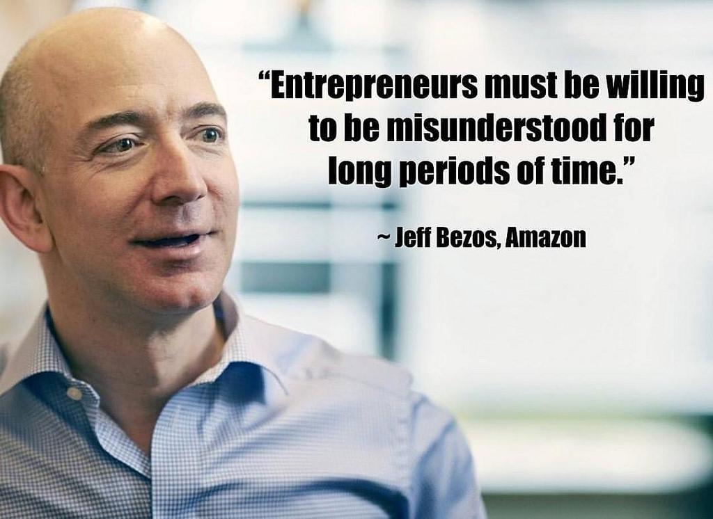 Câteva sfaturi despre business de la Jeff Bezos