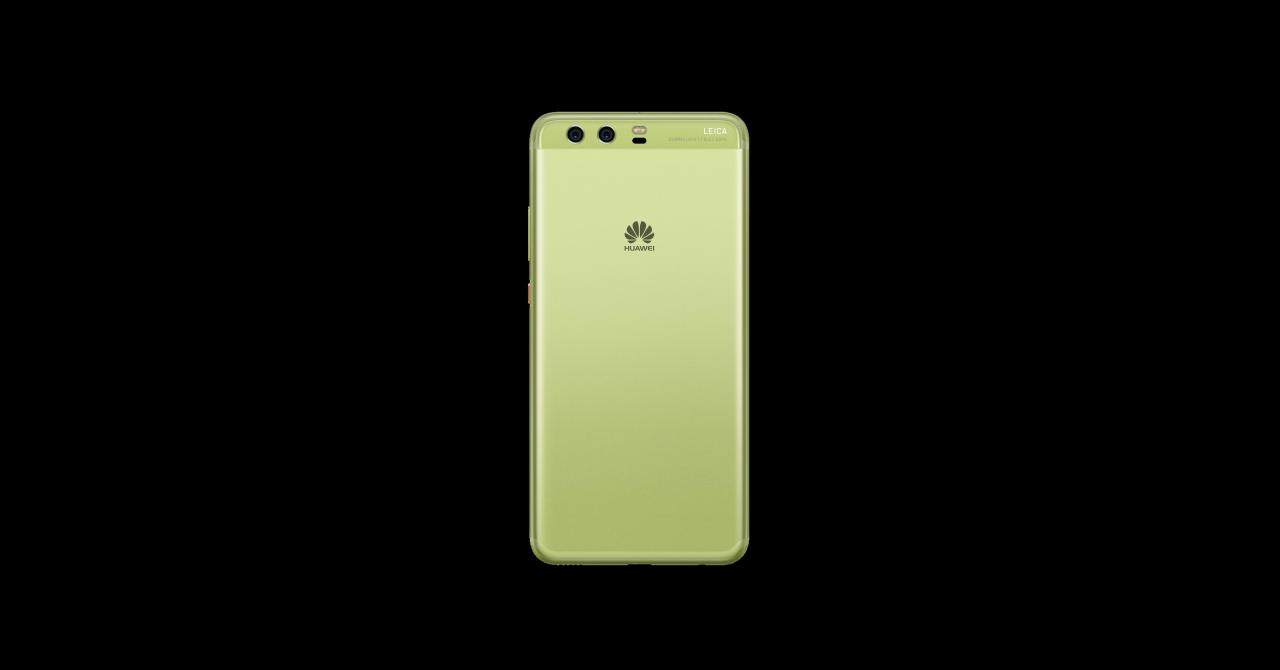 Telefonul Huawei P10 în versiunea Greenery, disponibil în România