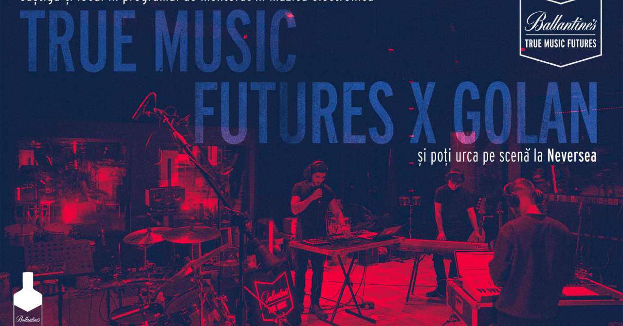 Ballantine's True Music Future - mentorat pentru muzică electronică