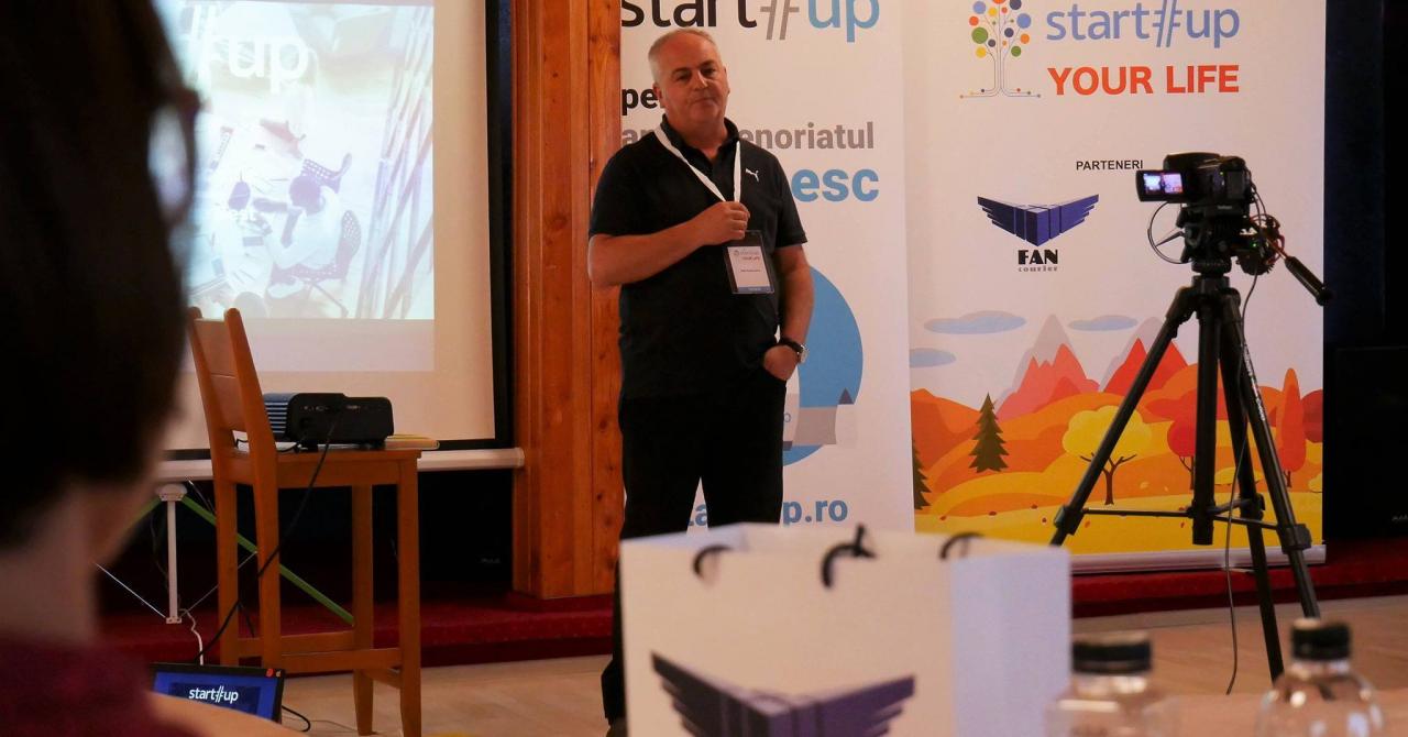 Felix Pătrășcanu, fondatorul FAN Courier, speaker la Startup Your Life