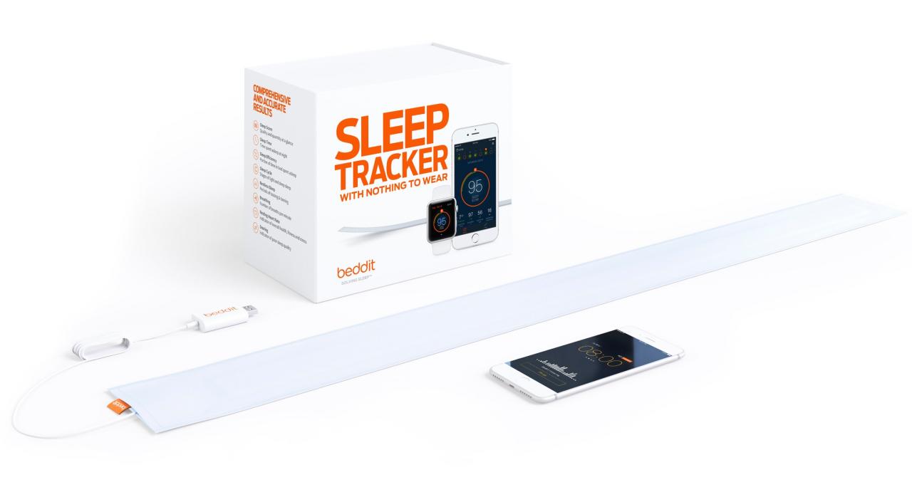 Apple a cumpărat Beddit, ca să te ajute să dormi mai bine