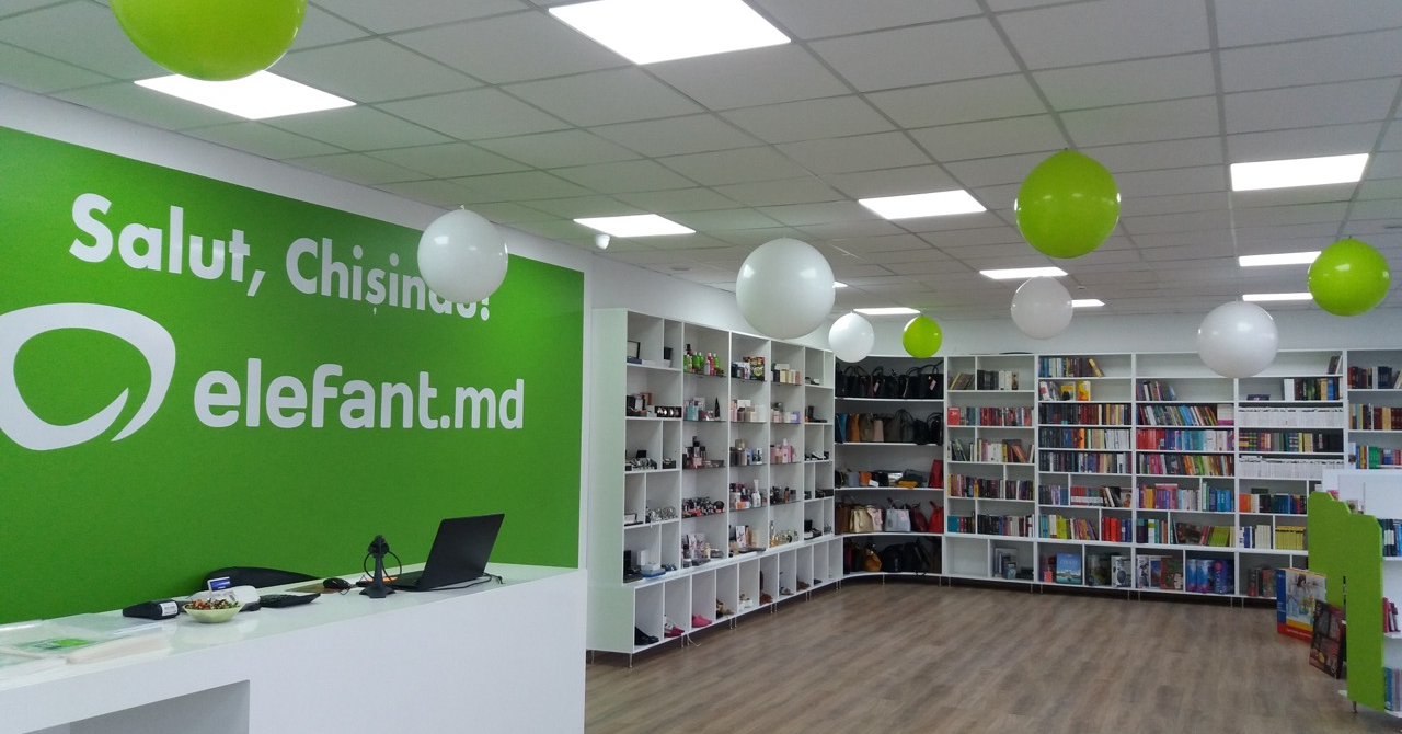 elefant.ro deschide un showroom la Chișinău