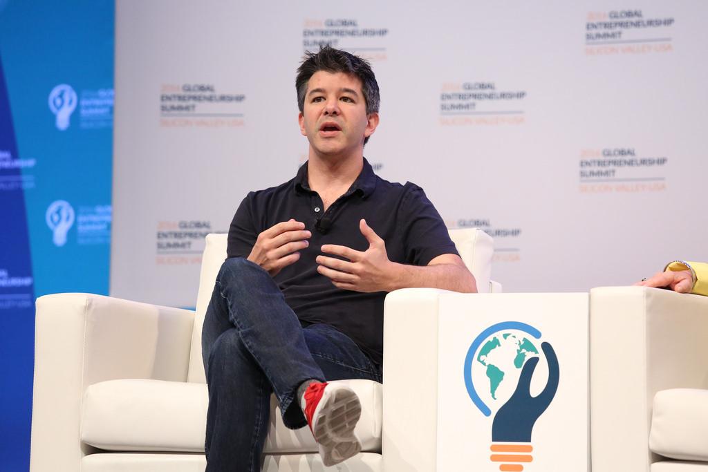 Cinci lucruri spuse de Travis Kalanick (Uber) care te vor inspira