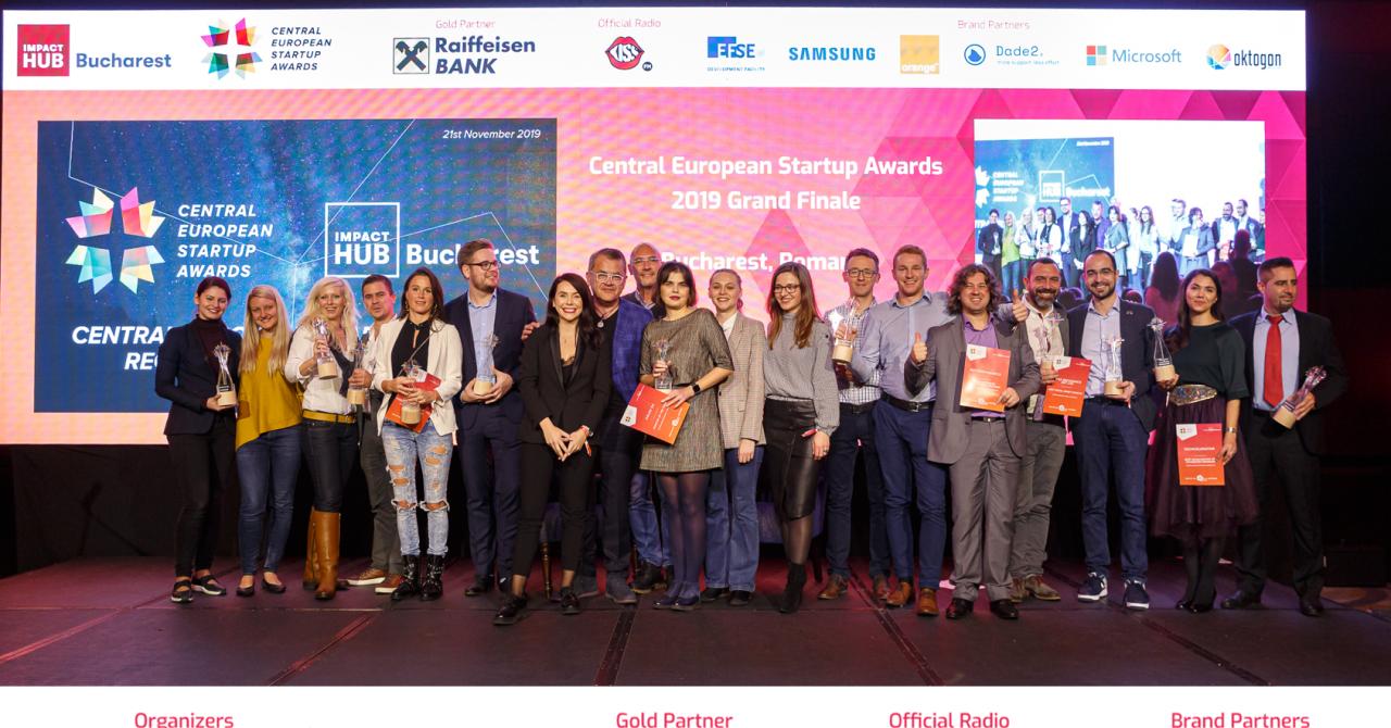 Central European Startup Awards 2019: câștigătorii finalei regionale