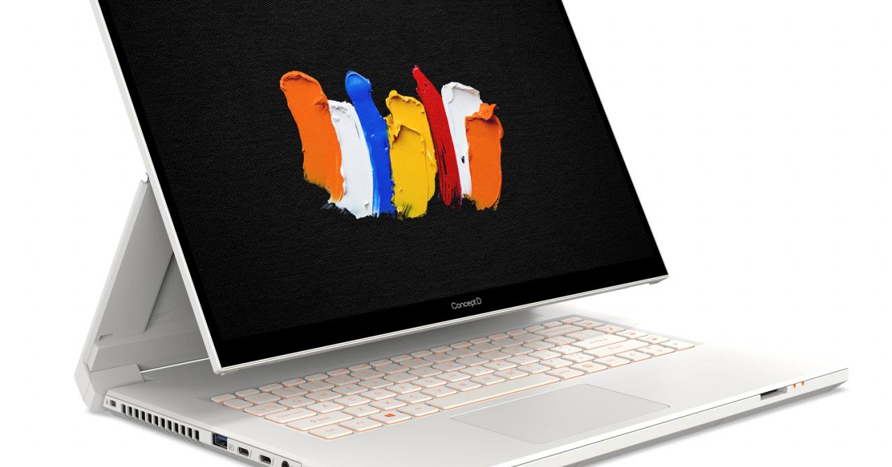Acer lansează noi laptopuri convertibile pentru creatorii de conținut