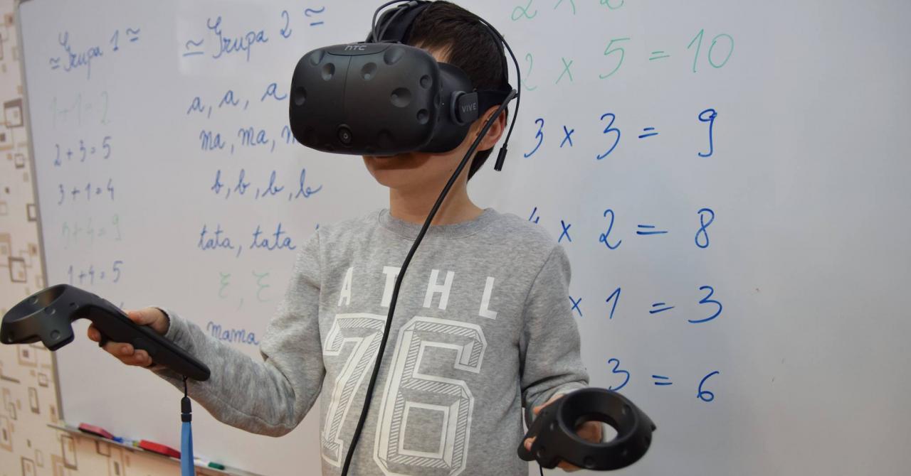 Camera Virtuală care îi pregătește pe cei mici pentru școală