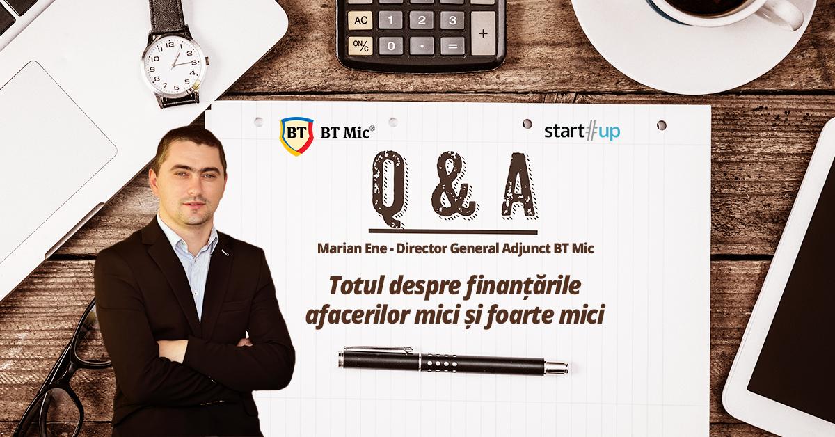 Q&A Live - Cum să-ți finanțezi afacerea la început de drum