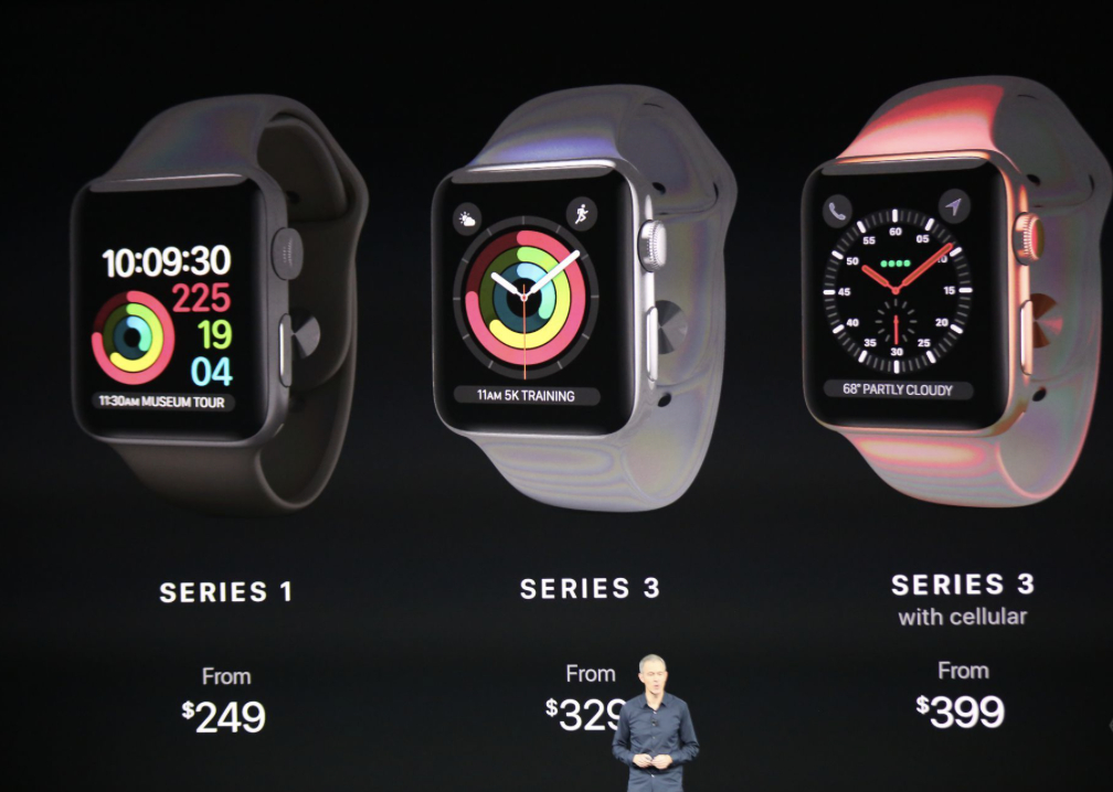Apple Watch Series 3 nu aduce un design nou, dar aduce funcții noi