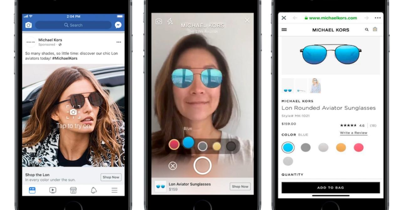 Facebook face cabină de probă pentru produse direct în News Feed