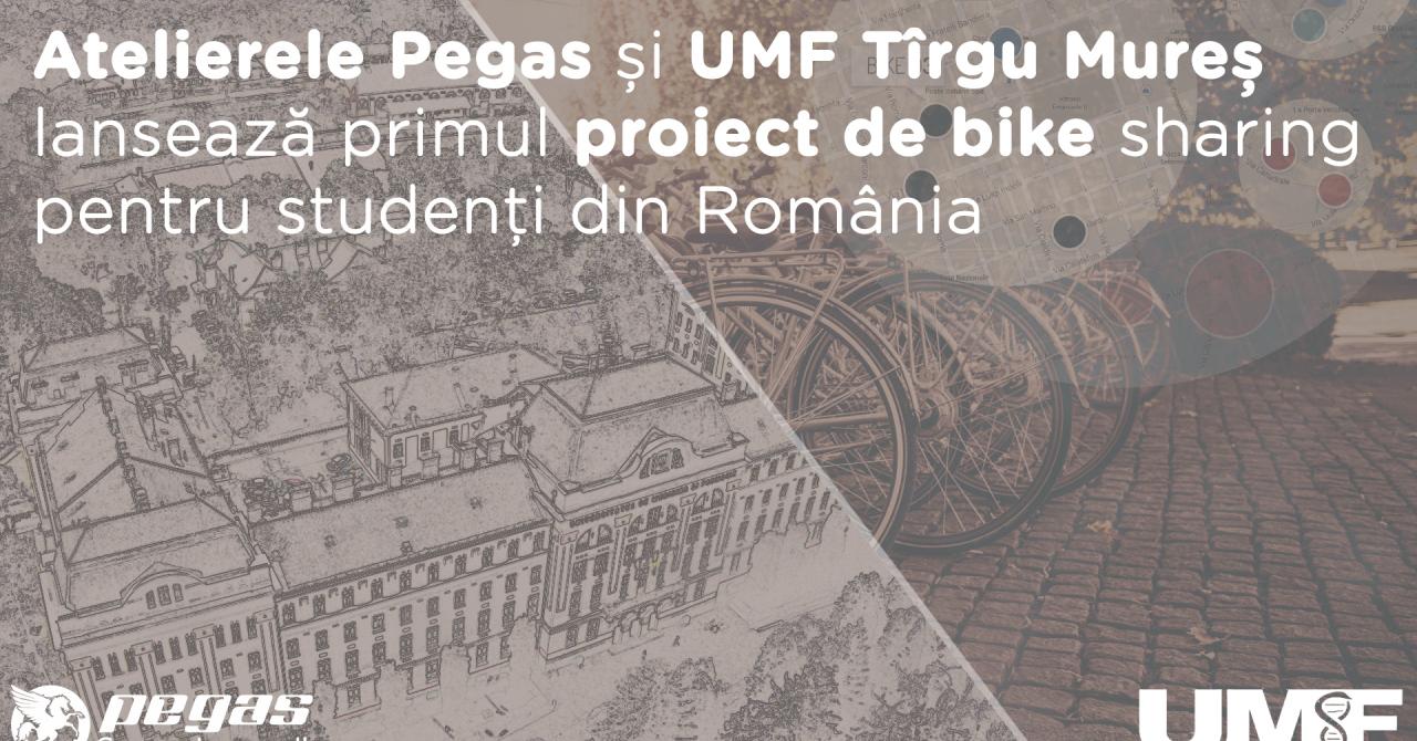Facultate 2017 - UMF Târgu Mureș și Atelierele Pegas oferă biciclete
