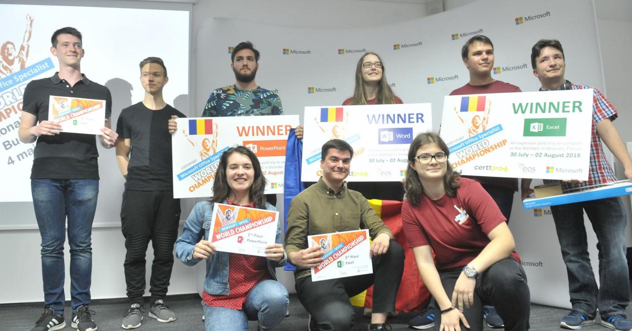 Campionii României...la Microsoft Office