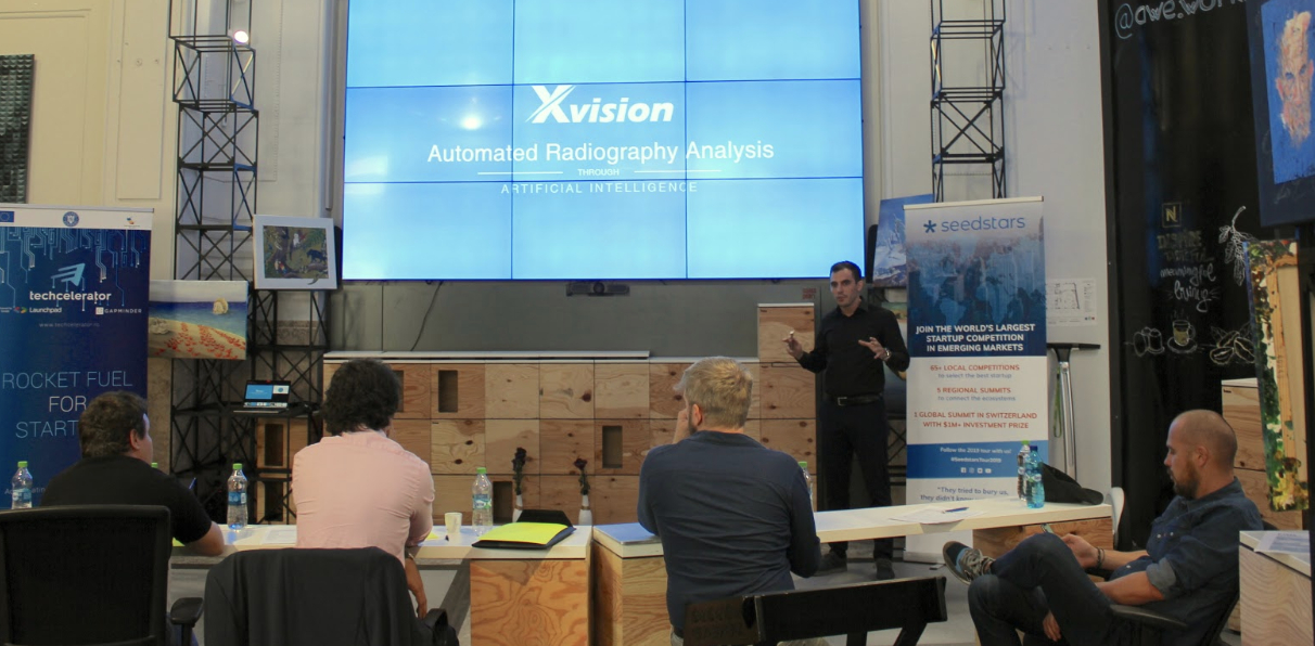 Xvision wins Seedstars Bucharest awards - best startup