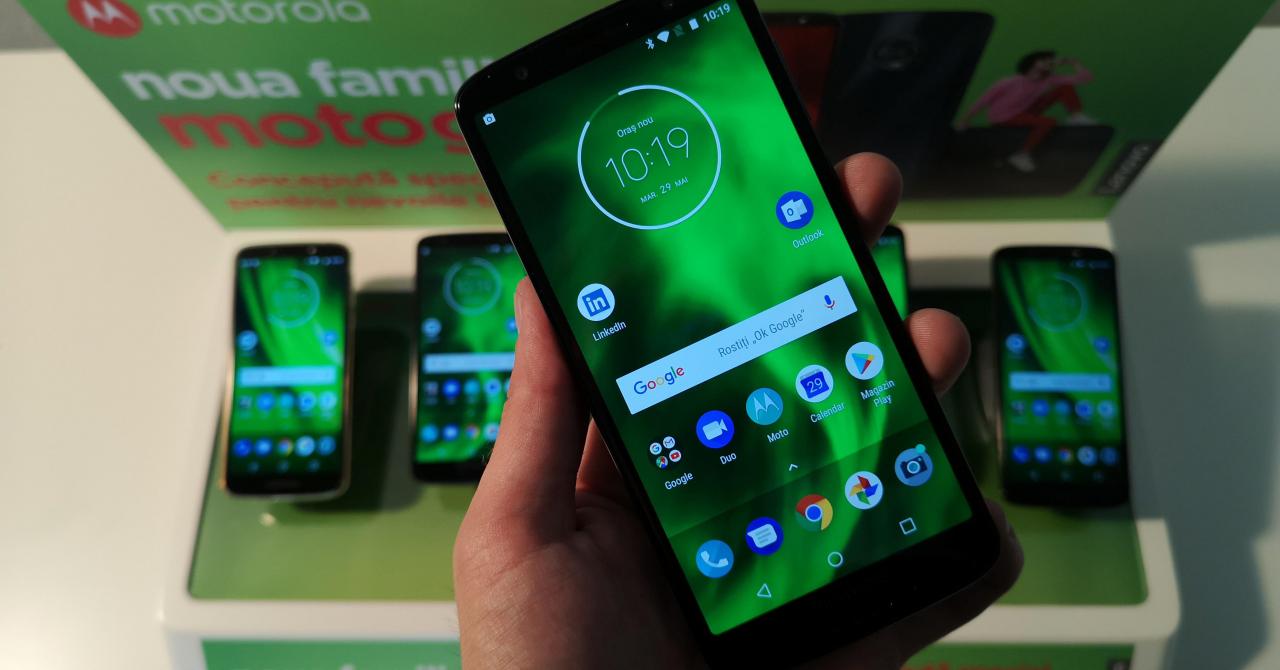 Motorola G6, G6 Plus și G6 Play, lansate local: potențial de best-buy?