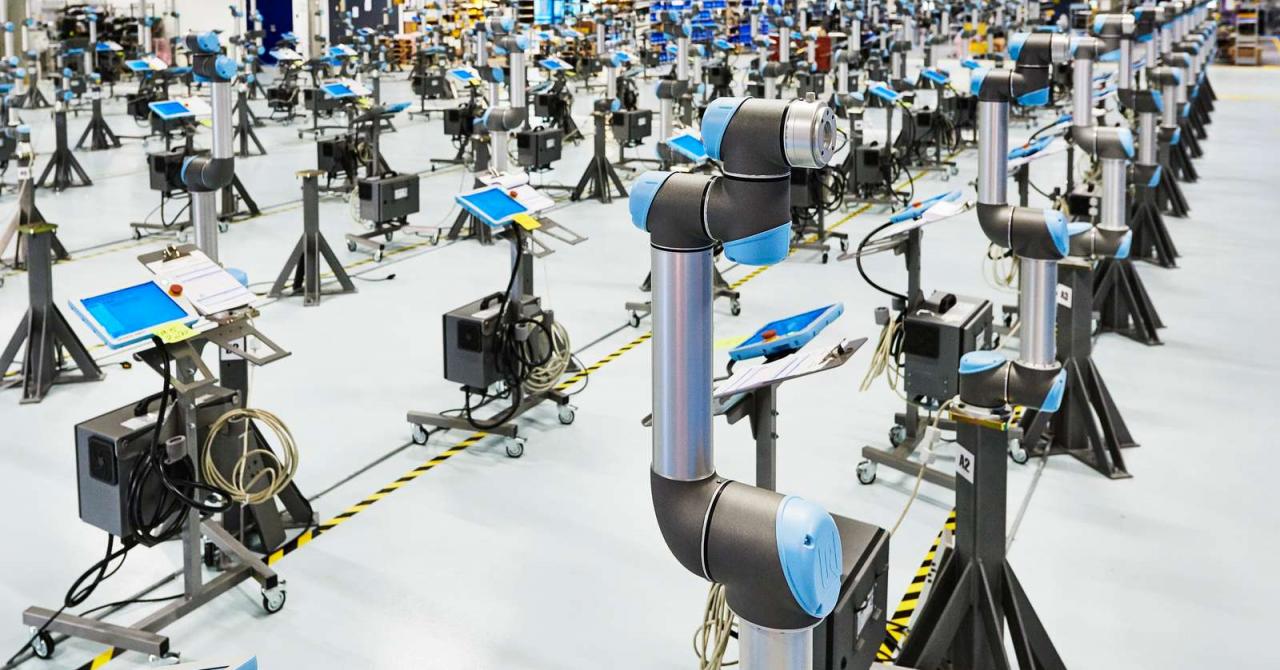 IMM-urile în care roboții lucrează cu oamenii, aproape 100% mai eficiente
