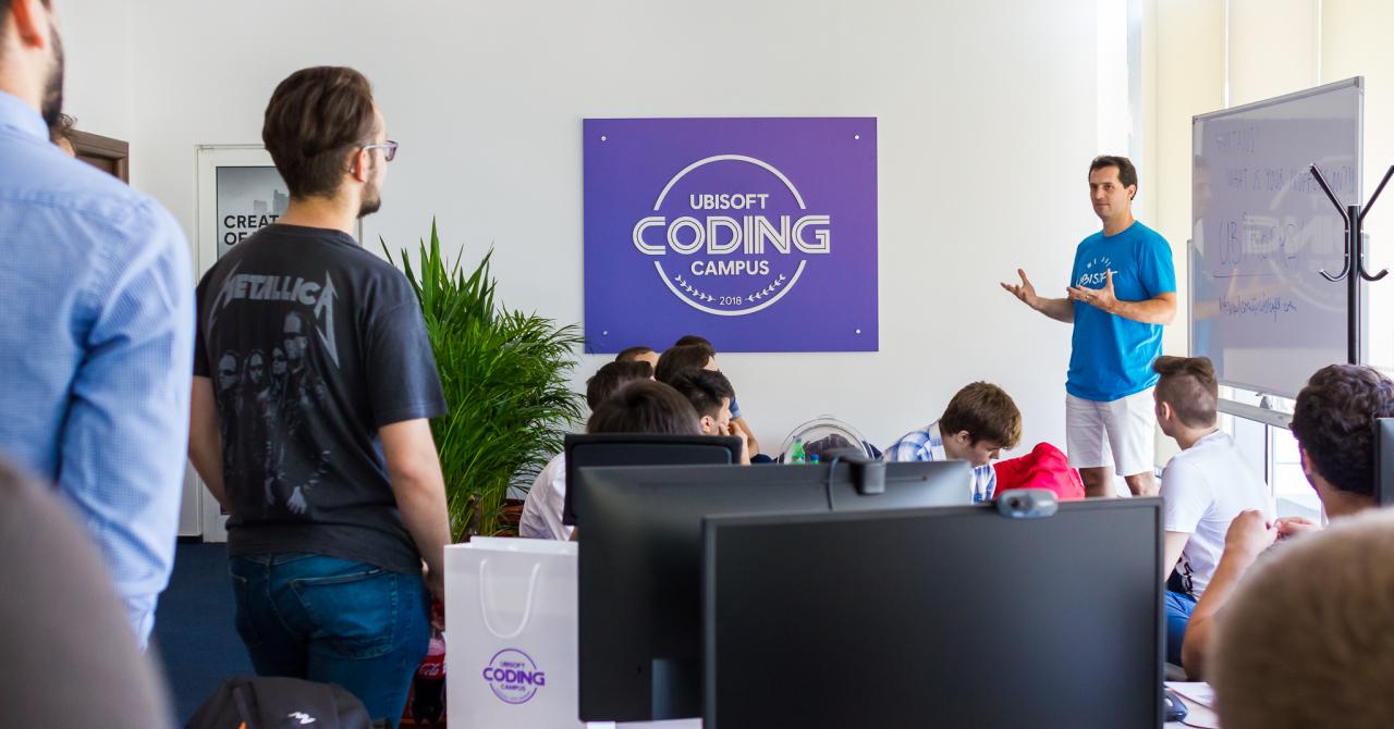 Concurență mai mare ca la Poli: 41 de oameni/loc la Coding Campus