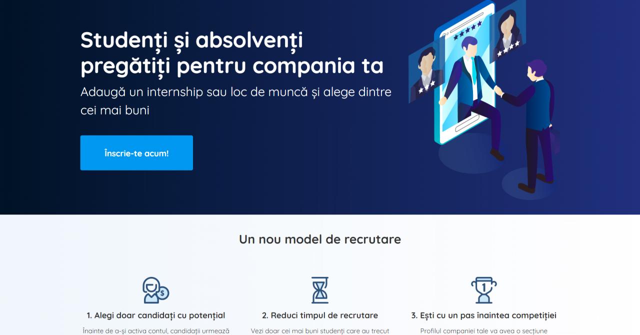 StudentPath, platforma unde studenții pot găsi internship-uri în companii