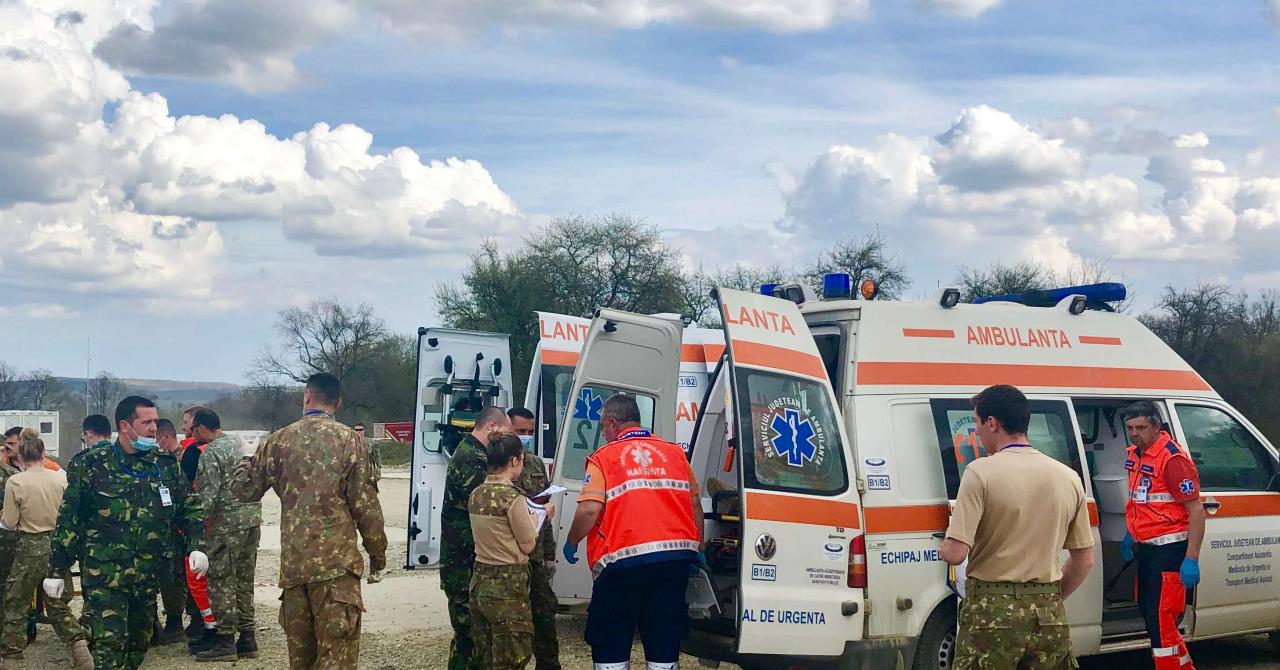 Românul care a dus blockchain-ul la un exercițiu medical NATO
