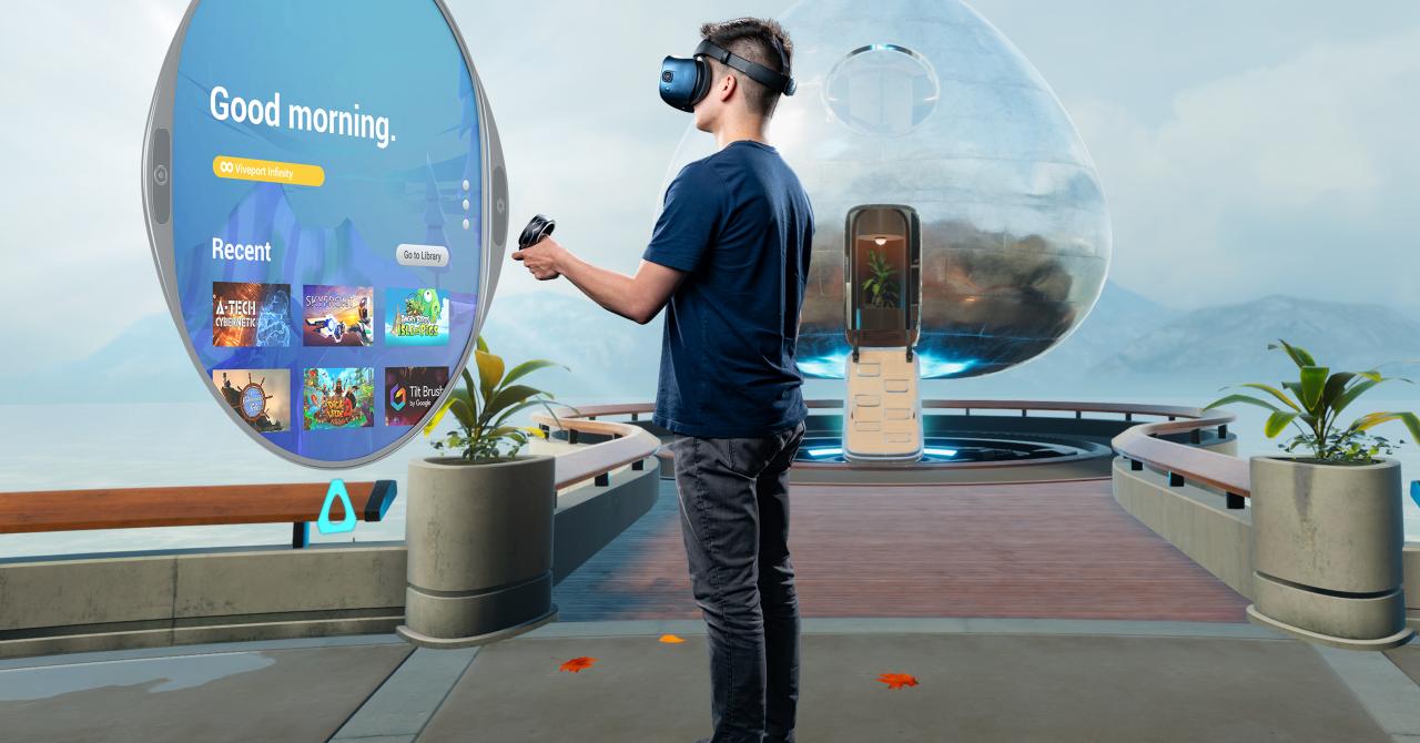 Reduceri de Black Friday la headset-urile de VR HTC Vive