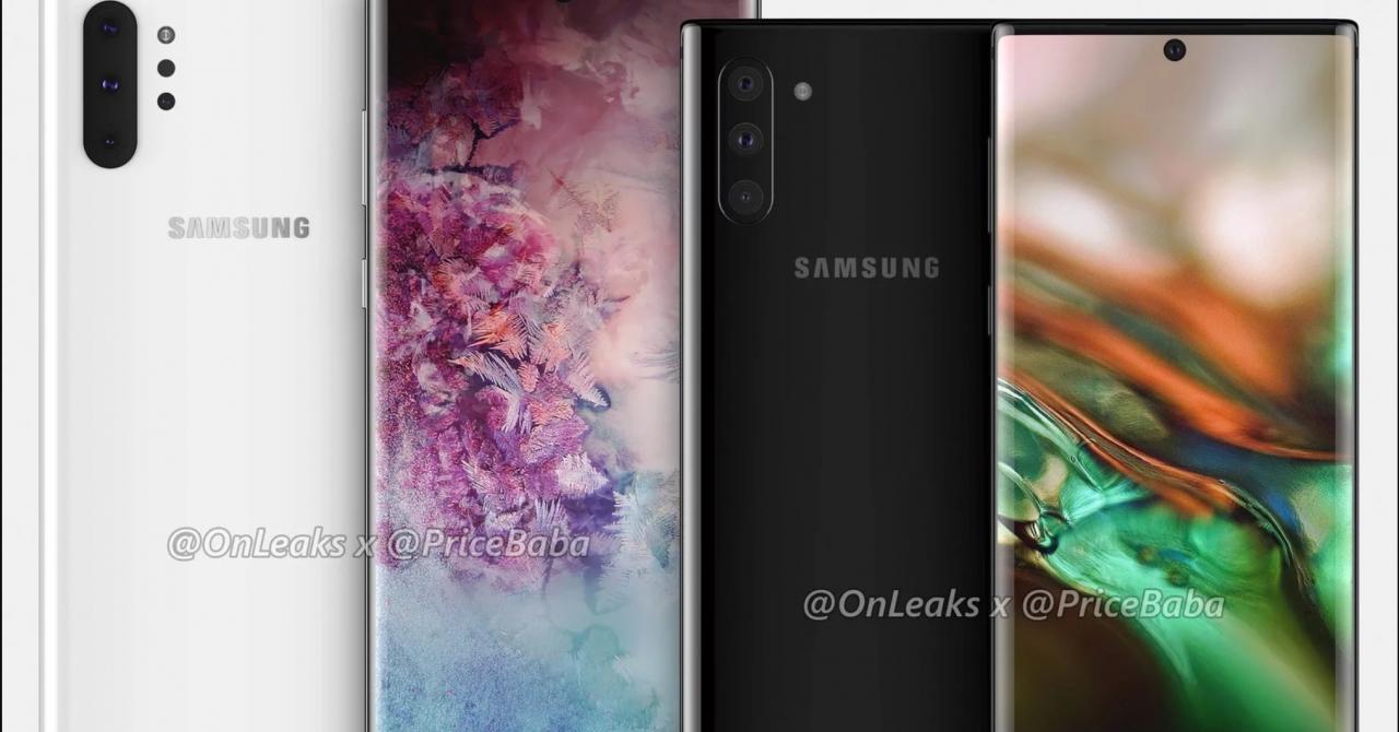 Samsung Galaxy Note 10: Toate detaliile înainte de lansarea oficială