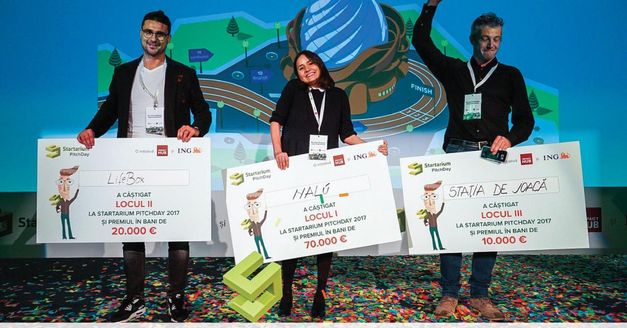 Câștigătorii Startarium PitchDay 2017