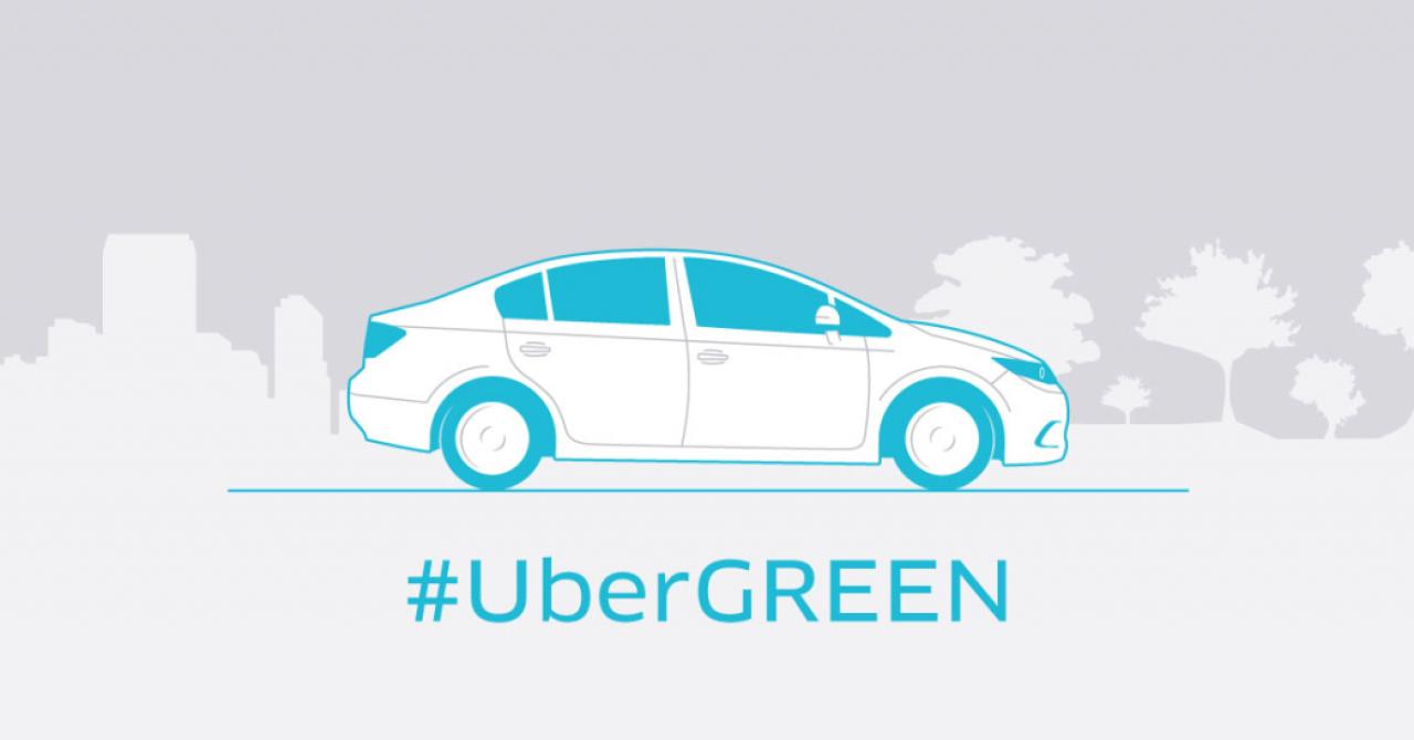 uberGREEN, următorul serviciu Uber pentru România