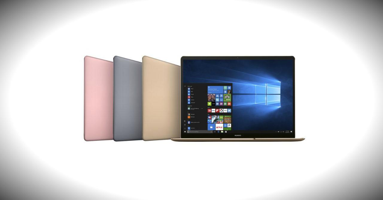 Laptopurile Huawei MateBook X, E și D vor rivaliza cu MacBook-urile