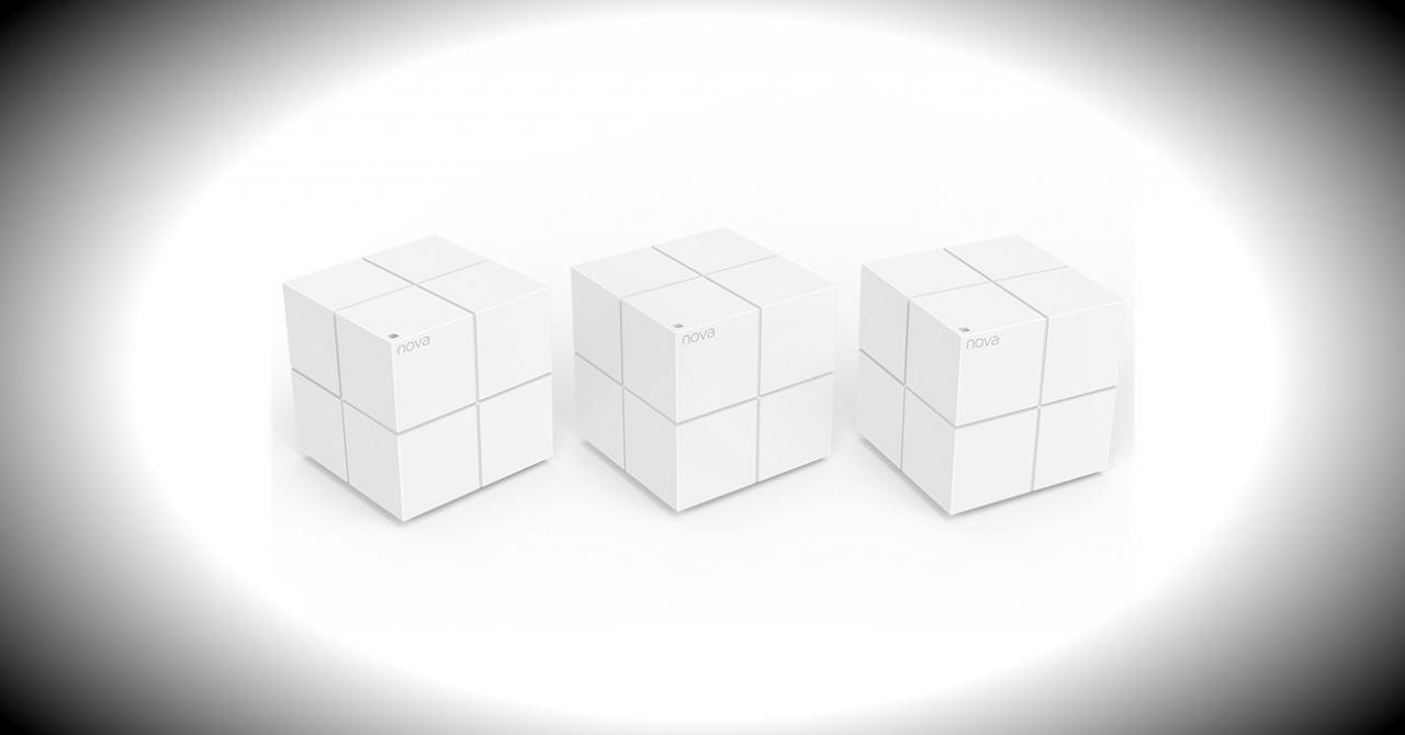 Aceste trei cuburi acoperă peste 500 mp cu semnal WiFi