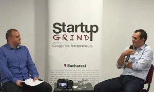 """Teodor Blidăruș, Softelligence la Startup Grind: """"Încearcă să creezi produse greu de replicat"""""""