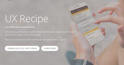 Ai auzit de UX? Produsul lansat de un român organizează etapele realizării designului de aplicație
