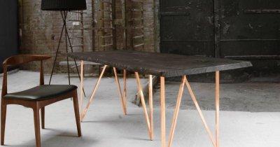 Massa Design - business în jurul unei mese arse