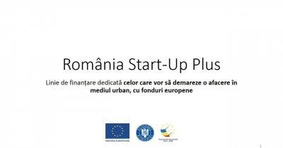 România Start-up Plus: 105 milioane de euro pentru antreprenoriat și crearea de locuri de muncă