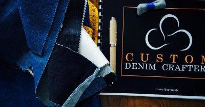 """La 16 ani și-a notat pe un caiet cu idei """"croitorie la comandă"""". După 20 de ani și-a deschis un atelier de blugi și denim"""