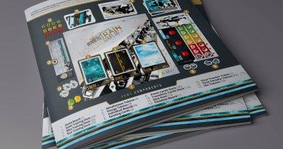 Și-au reconstruit viața într-un board game - Triathlon Series, primul joc despre triatlon creat de români