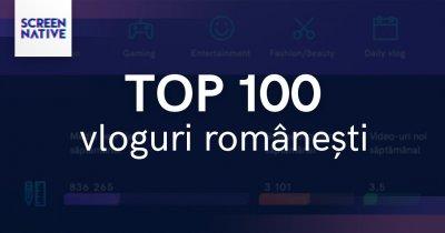Top 100 al vloggerilor români