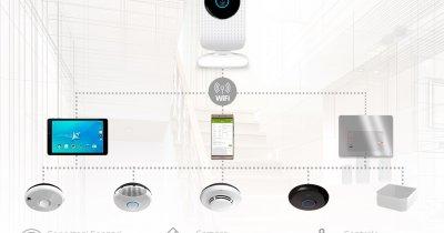 Allview țintește piața caselor inteligente - soluție completă de senzori și o oglindă inteligentă