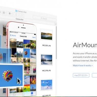 #Utile - AirMount - Transformă-ți iPhone-ul într-un hard disk extern