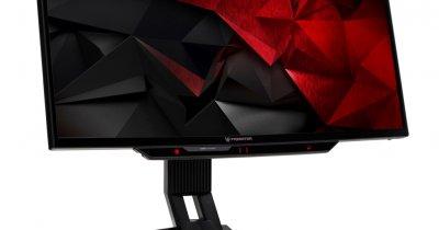 Acer Predator Z301CT - monitorul care îți urmărește ochii și modifică unghiul camerei în funcție de asta